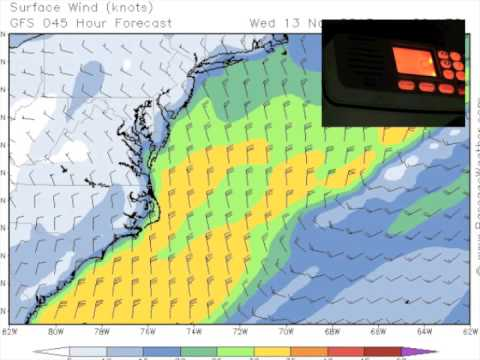 Offshore weather