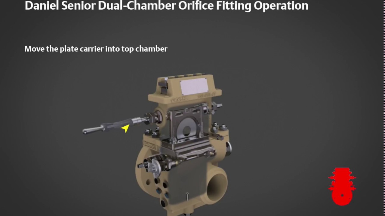Daniel senior orifice fitting operational sequence of
