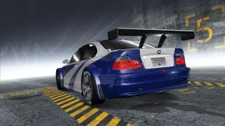 need for Speed: ProStreet How to Recreate 2005 Most Wanted's BMW M3 GTR Livery