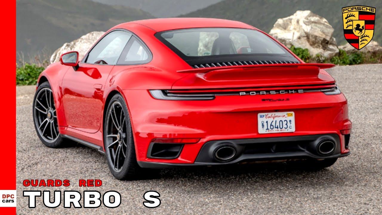 2021 Porsche 992 911 Turbo S Page 4