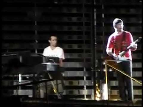 Me on stage with U2 2nd time!