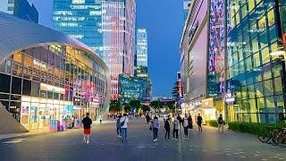 [4K] Evening walk in Seoul Digital Media City Sangam-dong district Korea 서울 상암 디지털미디어시티 DMC의 저녁 산책