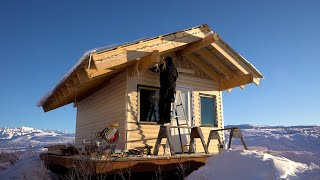 My Off Grid, Alaṡkan Log Cabin, Sauna Project - Part 1: Log Siding