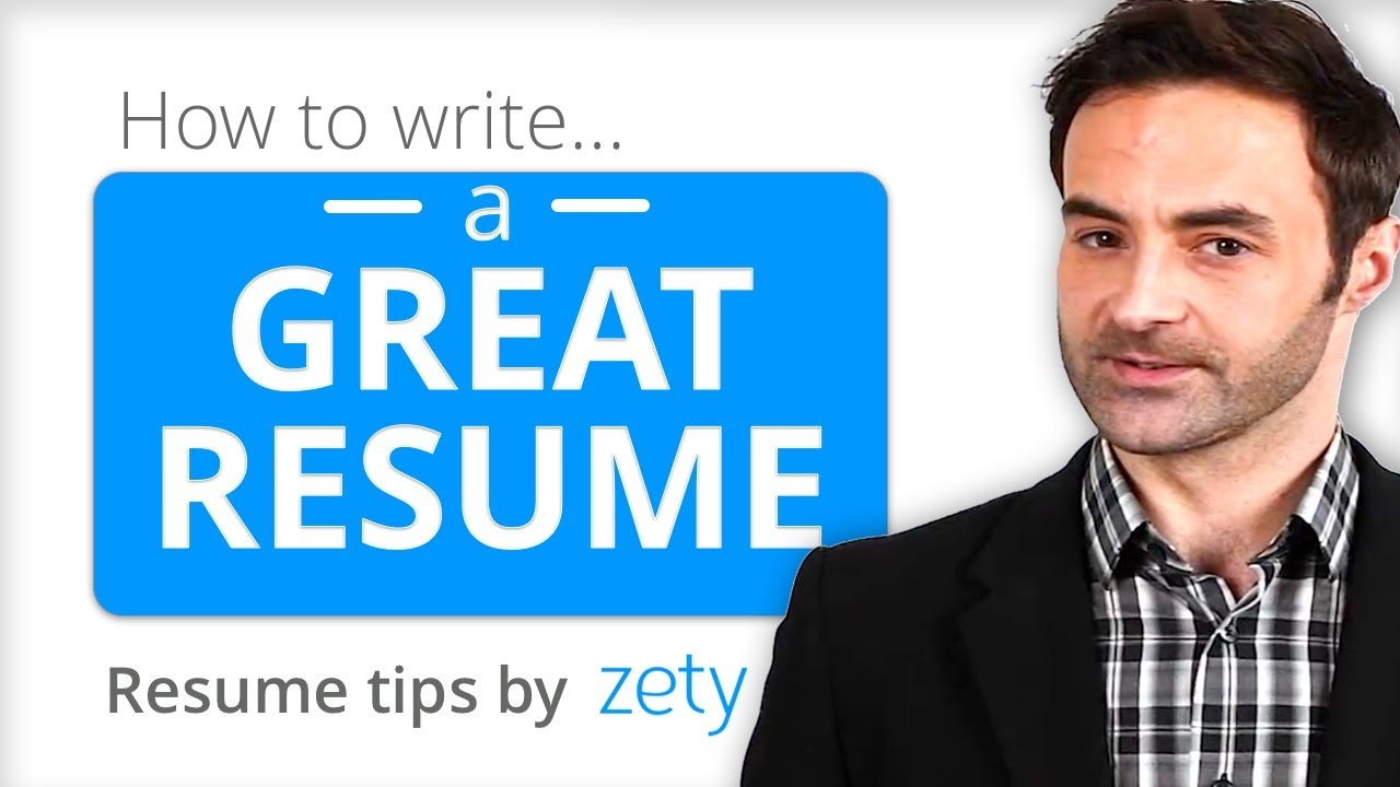 How To Write A Resume That Gets You A Job Youtube