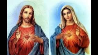 The Two Hearts- Jesus Christ and Blessed Mother Mary