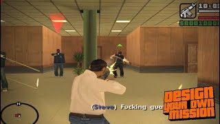 GTA San Andreas DYOM: The Briefcase of Secret - Running Dog pt.1/2