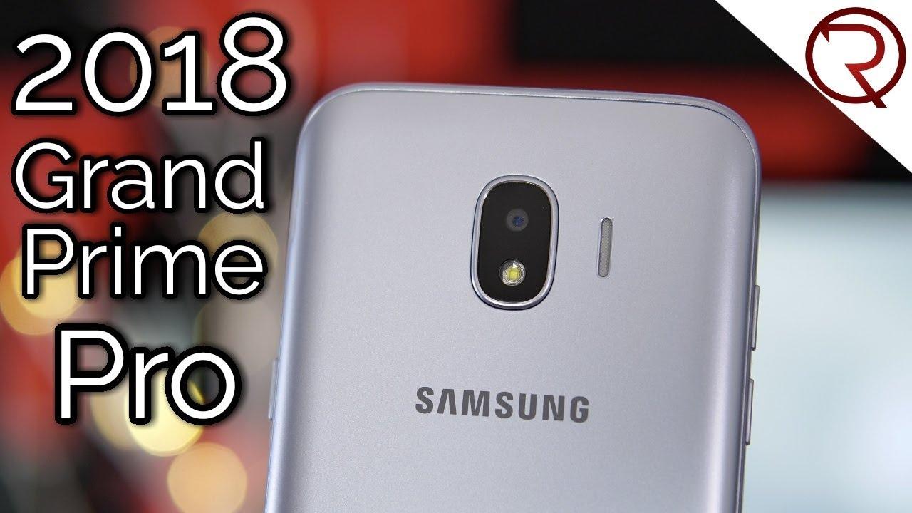 Samsung Galaxy Grand Prime Pro 2018 J2 Pro Smartphone Review Youtube