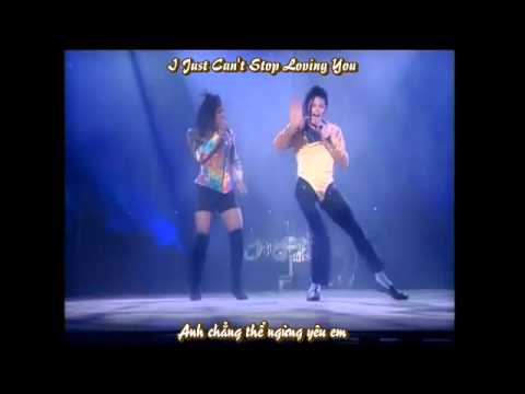 [Vietsub-Lyrics] Michael Jackson I Just Can't Stop Loving You-Live Bucharest Dangerous Tour 1992