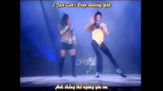 [Vietsub-Lyrics] Michael Jackson I Just Can