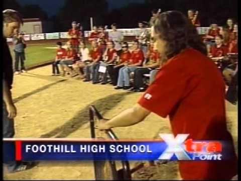 Cammo Interception - Lassen High School Football - 2009