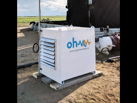 Ohmm Mini Tour - Bitcoin Mining Using Stranded Natural Gas