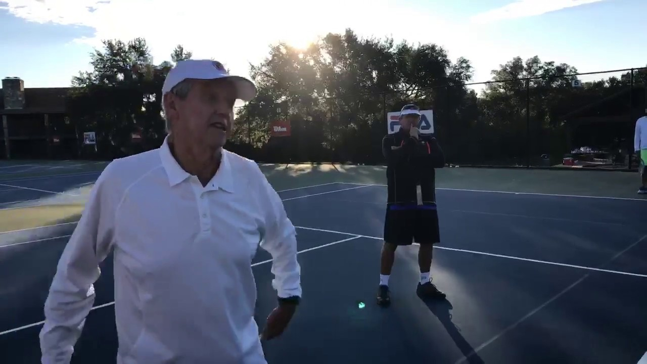 Legendary Lesson of The Day 1 Roy Emerson on The Volley