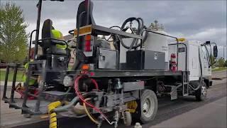 Xem Cho Biết Ở Mỹ Họ Sửa Chữa Đường Như Thế Nào... Video # 142