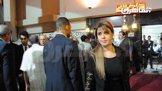 أحمد عز والصقر ومادلين طبر في عزاء سامي العدل