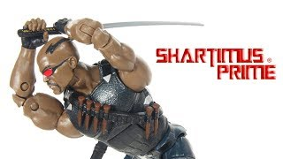 Marvel Legends Blade Netflix Man-Thing BAF Wave Hasbro Action Figure Toy Review