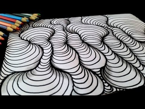 👀 Op Art | Optical illusion | sandy sandy