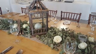 16 - DIY Bohemian | Rustic | Vintage Themed Centerpiece