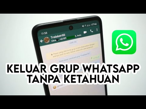 Cara Keluar Dari Grup WA Tanpa Diketahui - Leave Grup Whatsapp Tanpa Diketahui