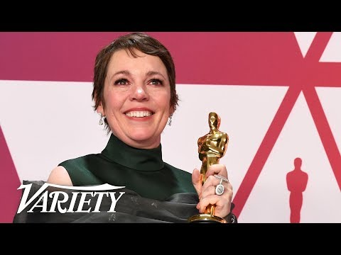 Olivia Colman - Best Actress 'The Favourite' - 2019 Oscars - Full Backstage Interview