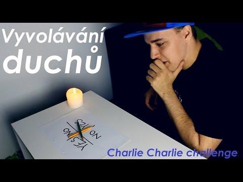 Vyvolávání duchů challenge (Charlie Charlie challenge CZ)