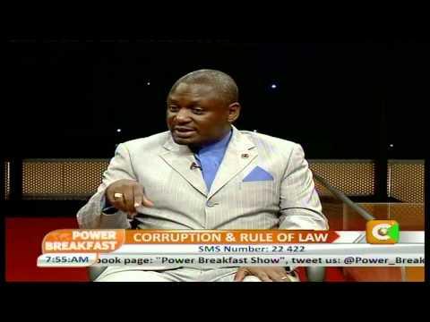 Power Breakfast Interview with Dr.Otiende Amollo-Ombudsman,Kenya