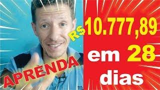 Como ganhei R$ 10.777,89 em 28 dias na monetize. Como ganhar dinheiro na internet