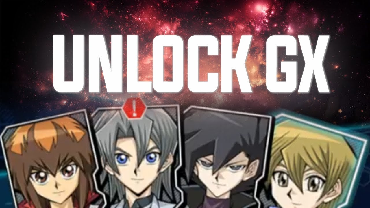 yu gi oh duel links gx how to unlock jaden chazz alexis