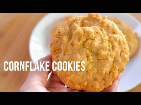 EASY CORNFLAKE COOKIES RECIPE (5 INGREDIENTS)