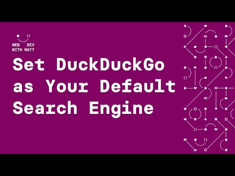 How to set DuckDuckGo As Your Default Search Engine