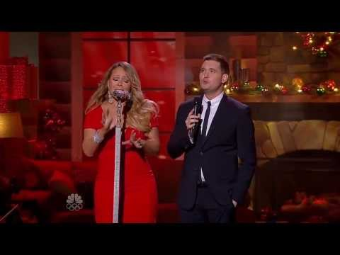 Mariah Carey & Michael Bublé - All I Want For Christmas Is You (Christmas Live 2013)