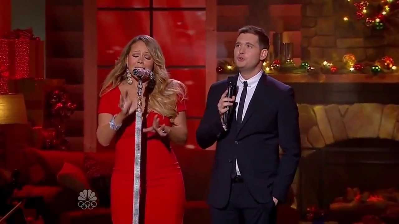 Mariah Carey & Michael Bublé - All I Want For Christmas Is You (Christmas Live 2013) - YouTube