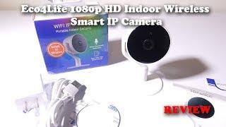Eco4Life 1080p HD Indoor Wireless Smart IP Camera for 39 Bucks!