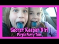 Secret Keeper Girl Purple Party Tour! Backstage and Tour Bus Access!