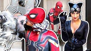 Spider-Man OFFICE PARKOUR PARKOUR PARODY Anime Weekend Atlanta 2018