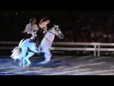 Les Nuits Equestres de Béziers 2014 - Cécile Parquet