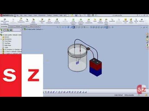 Solidworks UV Water Purifier Tutorial