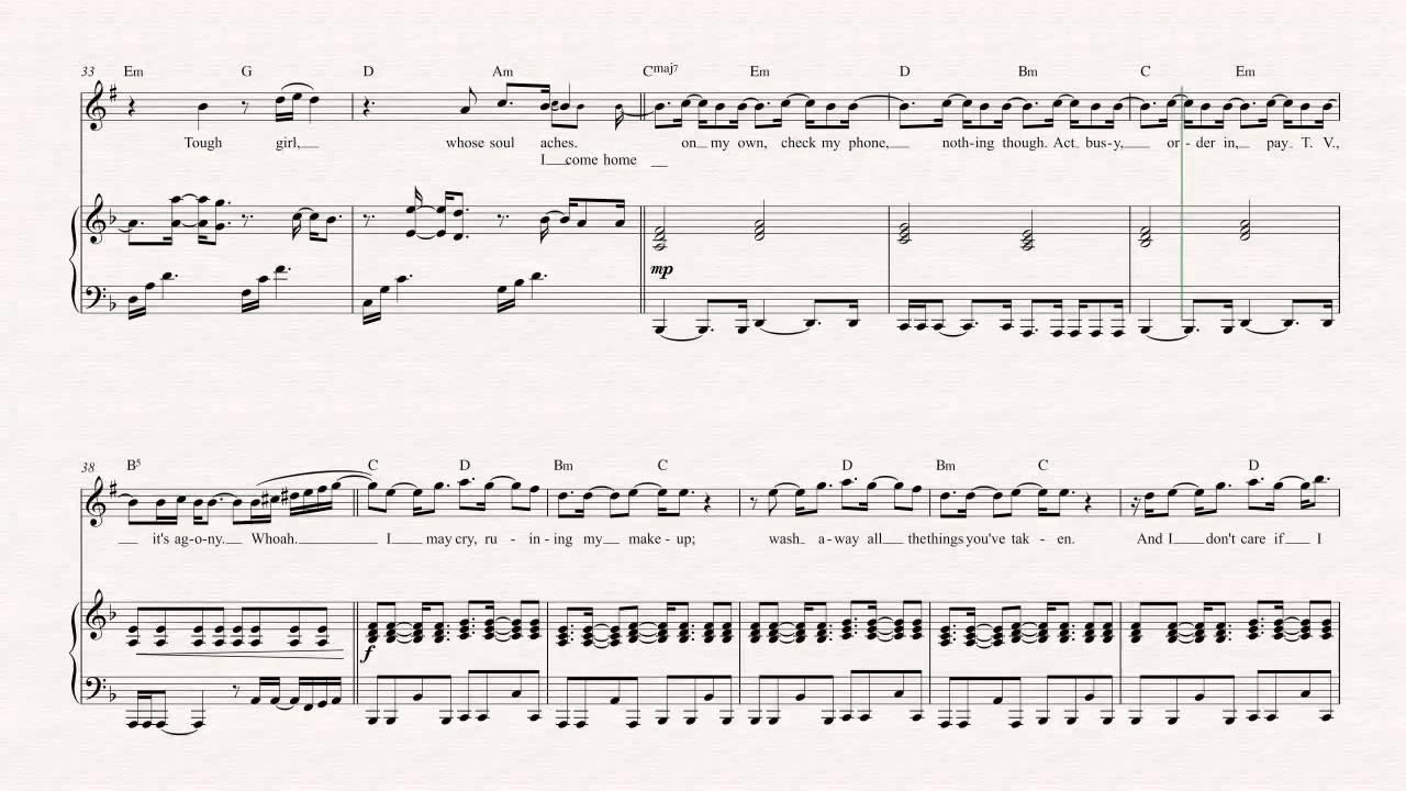 Trumpet - Big Girls Cry - Sia - Sheet Music, Chords, & Vocals ...