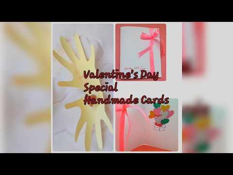 Valentine's Day DIY Decor/ Handmade Cards