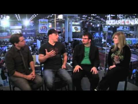 NYCC 2012: GEOFF JOHNS Talks Earth One, Shazam, JLA & More
