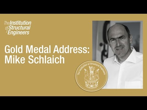 Gold Medal Address 2015: Mike Schlaich