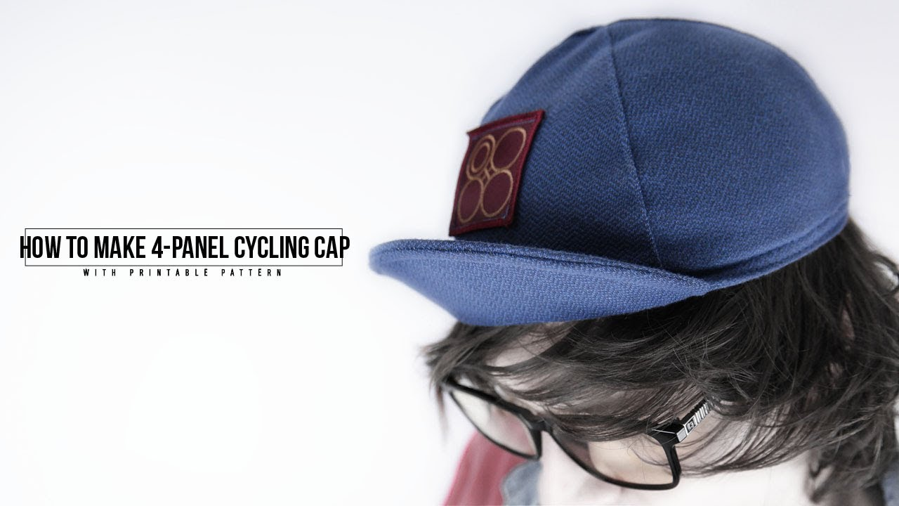 photograph regarding Printable Welding Cap Pattern known as How towards Generate a 4 Panel Biking Cap