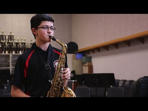 Interview With Viral Saxophone Soloist Aidan Brown