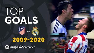 TOP GOALS Atlético de Madrid vs Real Madrid 2009/2020