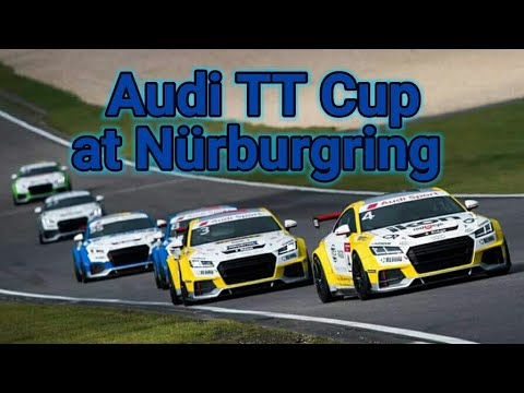 Audi TT Cup at Nürburgring Sprint [Assetto Corsa][XB1][Logitech G920]