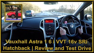 Virtual Video Test Drive In Our Vauxhall Astra 1 6 i VVT 16v SRi Hatchback