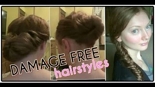Damage-free Hairstyles Thumbnail