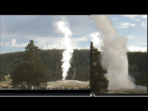 She Went off @9: AM -Quake's, Floods & Alien Footprints In India (Static Cam Old Faithful)