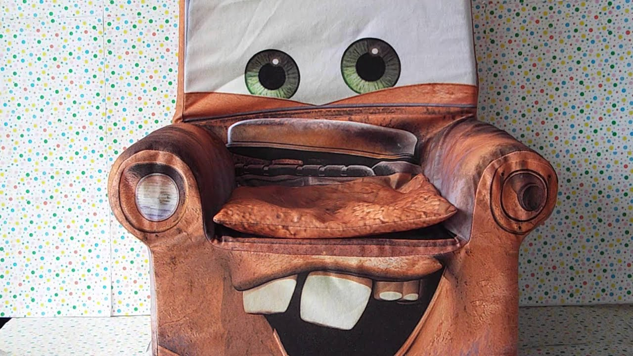 Disney Talking Tow Mater Chair  YouTube