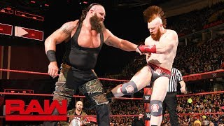 Braun Strowman vs. Sheamus: Raw, March 26, 2018