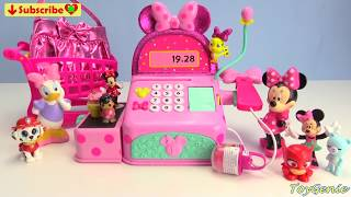 Disney Minnie Mouse and Daisy Toy Shopping Spree Cash Register